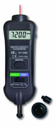 دورسنج نوری / مکانیکی / لیزری لوترون مدل DT-1236L
