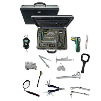 کیف کامل تجهیزات بازرسی چشمی