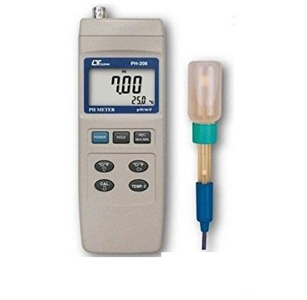 اسید سنج دیجیتال حرفه ای Lutron مدل PH-208