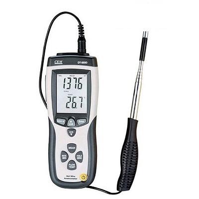 سرعت سنج باد با سنسور گرمایی DT-8880