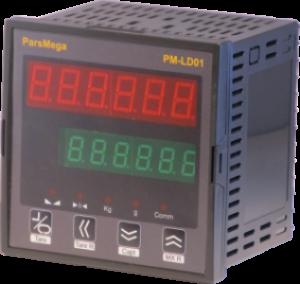نمایشگر و کنترلر وزن پارس مگا مدل PM-LD01A با خروجی آنالوگ و 5 رله