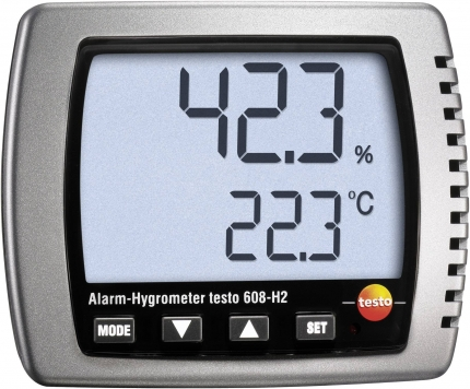 دما و رطوبت سنج محیطی 608-H2