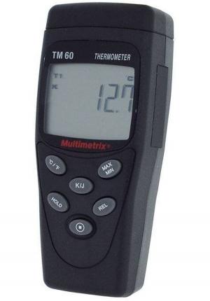 دما سنج ترموکوپلی تک کانال مولتی متریکس MULTIMETRIX TM 60