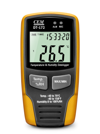 دیتالاگر دیجیتال دما و رطوبت سم CEM DT-172TK