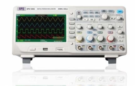 اسیلوسکوپ دیجیتال 4 کاناله 100MHZ مدل: GPS-1104C