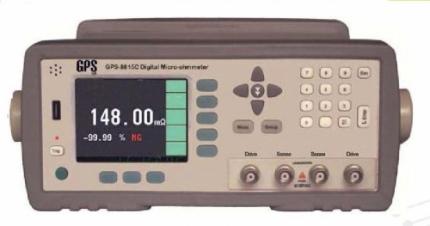 میکرو اهم متر دیجیتال رومیزی مدل: GPS-8815D