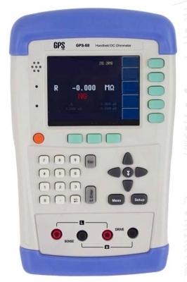 میکرو اهم متر پرتابل دیجیتال مدل: GPS-885
