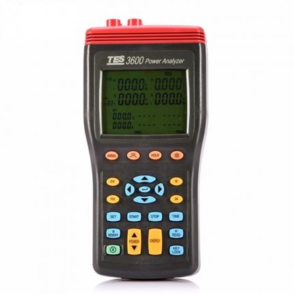 پاور آنالایزر تک فاز و سه فاز مدل TES-3600