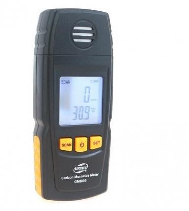 منو اکسید کربن و دماسنج (COمتر) مدل BENETECH GM8805
