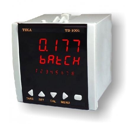نمایشگر و کنترل وزن تیکا مدل TD-1000C-DRS با نمایشگر دوم، رله و RS485