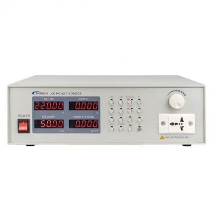 منبع تغذیه تکفاز AC دیجیتالی توین تکس مدل APS-5101