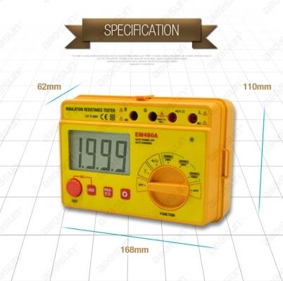 میگر دیجیتال 1000 ولت مدل: EM480A